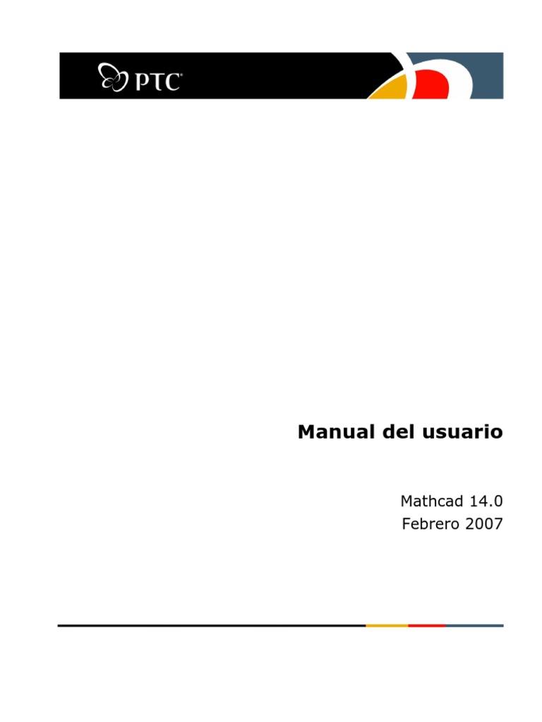 Manual de Mathcad