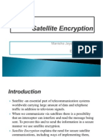 Satellite Encryption