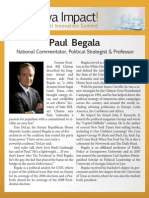 Paul Begala - biography for Iowa Impact Medical Innovation Summit