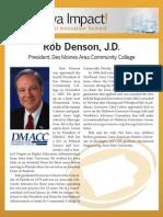 Rob Denson, J.D.  - biography for Iowa Impact Medical Innovation Summit