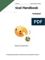 Volleyball Technical Handbook