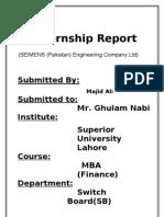 Internship Report. Irfan