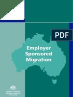 Booklet 5 Employer Sponsored Migration