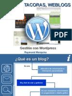 Taller de Weblog