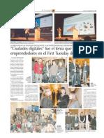 Interactivar Ltda Founder in Diario Financiero Chile