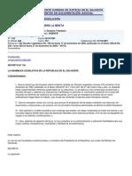 LEY DE IMPUESTO SOBRE LA RENTA - EL SALVADOR