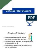 Forecasting ER