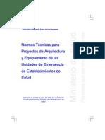 Proy. Arq. y Equip. de Unidades de Establecimientos de Salud