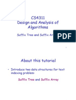Tutorial Suffix Tree
