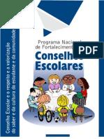 Conselho Escolar e o respeito e a valorização do saber e da