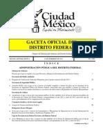 Ley discriminación  DF 2010