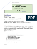 UT Dallas Syllabus for engr2300.003.11f taught by Carlos Busso Recabarren (cxb093000)