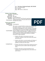 UT Dallas Syllabus for bis3320.005.11f taught by Tonja Wissinger (twissin)