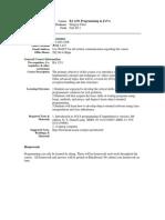 UT Dallas Syllabus for ba4331.001.11f taught by Hongyu Chen (hxc051200)