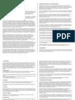 9 Capitulos de Los Acuerdos de Chapultepec