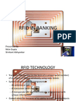 Role of RFID in Banking