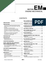 Altima EM Engine Mechanical