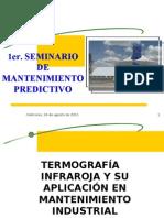 TERMOGRAFÍA CONFERENCIA JULIO 08
