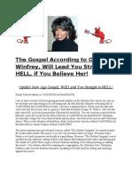 The Gospel According to Oprah Winfrey