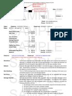 Sample Rental Agreement