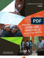 Protocolos de Atencion Integral a Adolescentes