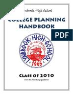 COLLEGE Planning Handbook 2010