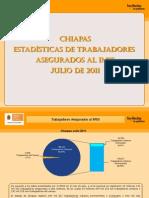 Estadisticas IMSS Julio 2011