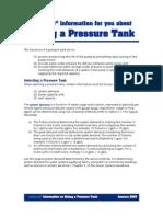 9884303 Sizing a Pressure Tank FINAL