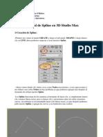 Tutorial de Spline en 3D Max