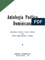 ANTOLOGÍA DE LA POESÍA DOMINICANA