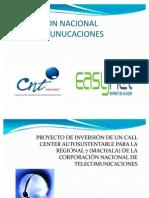 PROYECTO DE INVERSIÓN DE UN CALL CENTER AUTOSUSTENTABLE PAR