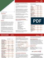 Barricade Plus Brochure Full Page