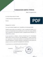 Carta de Entendimiento Fundatere Intervida
