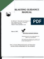 Blasting Guidance Manual