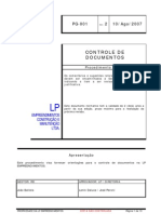 PG-001 - Controle de Documentos LP