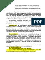 2NATURALEZA Y BASES DEL DISEÑO DE ORGANIZACIONES clase 2