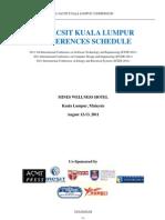 Kuala Lumpur Conference PROGRAM