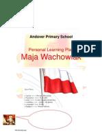 ESL - Personal Learning Plan - Maja