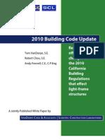 2010 Building Code Update