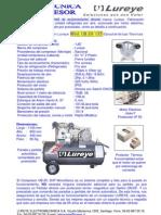 Ficha Tecnica Compresor Ub-20 2HP 135Lts