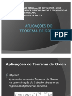 Aplicações do teorema de grenn