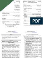 Cedar Bulletin Page - 08-28-11