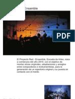 proyecto[red]ensamble - presentación