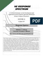 01-Response Spectra Slides