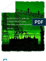 Telesis Events - Construction Contract Essentials - Workbook