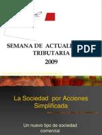La Sociedad Por Acciones Simplificada Autoría de Juan Pulgarin