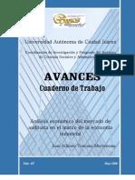 Avances 167. Juan Alfonso Toscano