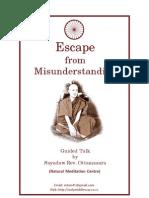 Escape From Misunderstanding (eBook)
