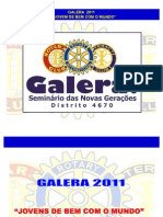 Seminário GALERA 2011