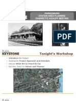 Parkesburg Train Station Renovation Planning Presentation